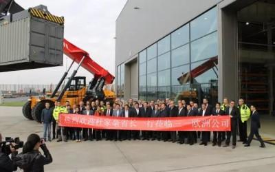三一欧洲业绩蓄势猛增,挖机销售增长超200%